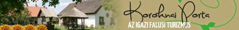 falusi vendéglátás és szálláshely a Koroknai Portán